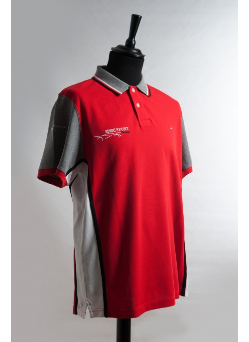Regular-fit embroidered cotton polo