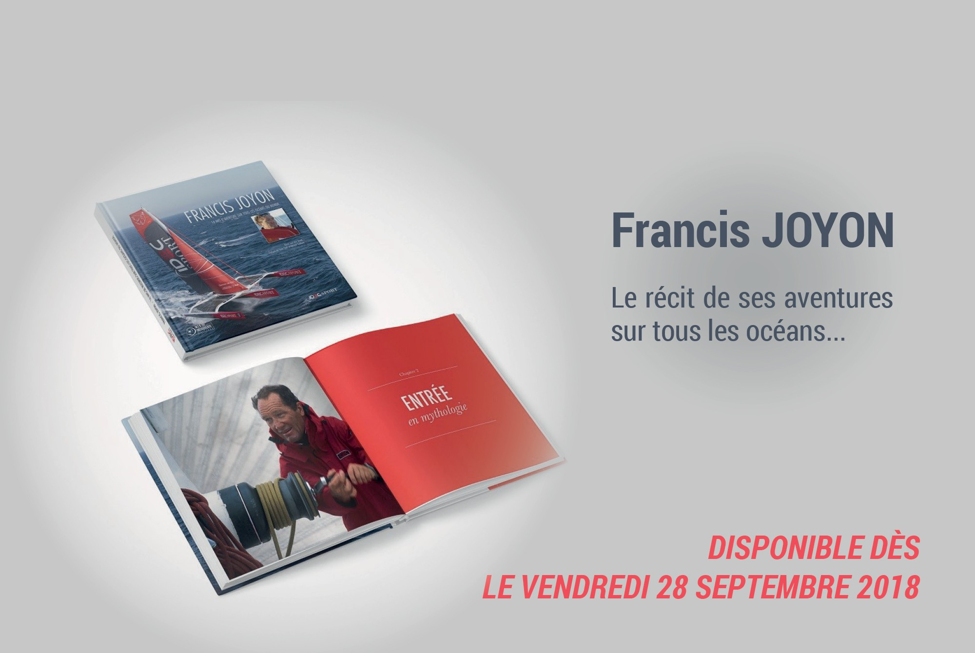 Livre de Francis Joyon 2018